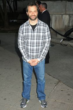 Celebrity guests arrive for the Annual Tribeca Film Festival/Vanity Fair Party, held at the State Supreme Court in NYC. <P> Pictured: Judd Apatow <P><B>Ref: SPL383533  170412  </B><BR/> Picture by: Johns PKI / Splash News<BR/> </P><P> <B>Splash News and Pictures</B><BR/> Los Angeles:	310-821-2666<BR/> New York:	212-619-2666<BR/> London:	870-934-2666<BR/> photodesk@splashnews.com<BR/> </P>
