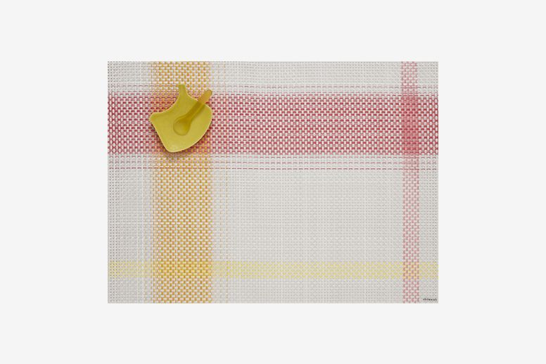 Chilewich Beam Rectangle Placemat, Azalea (Set of 4)
