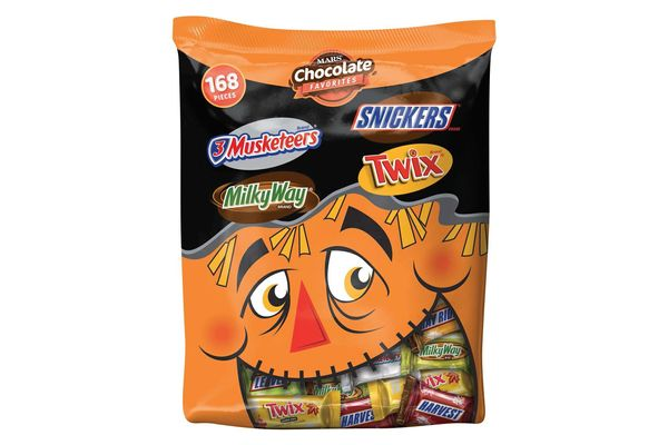 Mars Chocolate Fall Harvest Minis Size Candy Bars Variety Mix, 168-Piece Bag