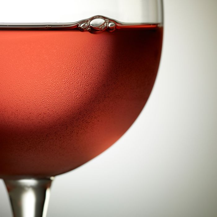 Pink wine, all the time.