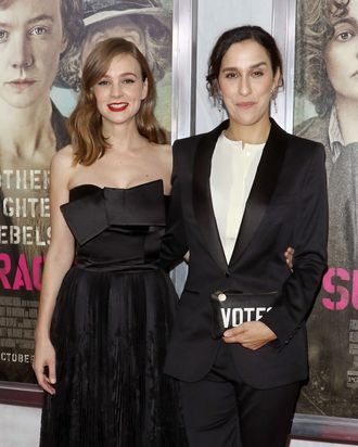 Carey Mulligan and Sarah Gavron.