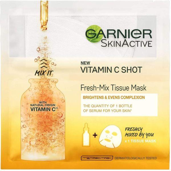 Garnier Fresh-Mix Tissue Mask With Vitamin C