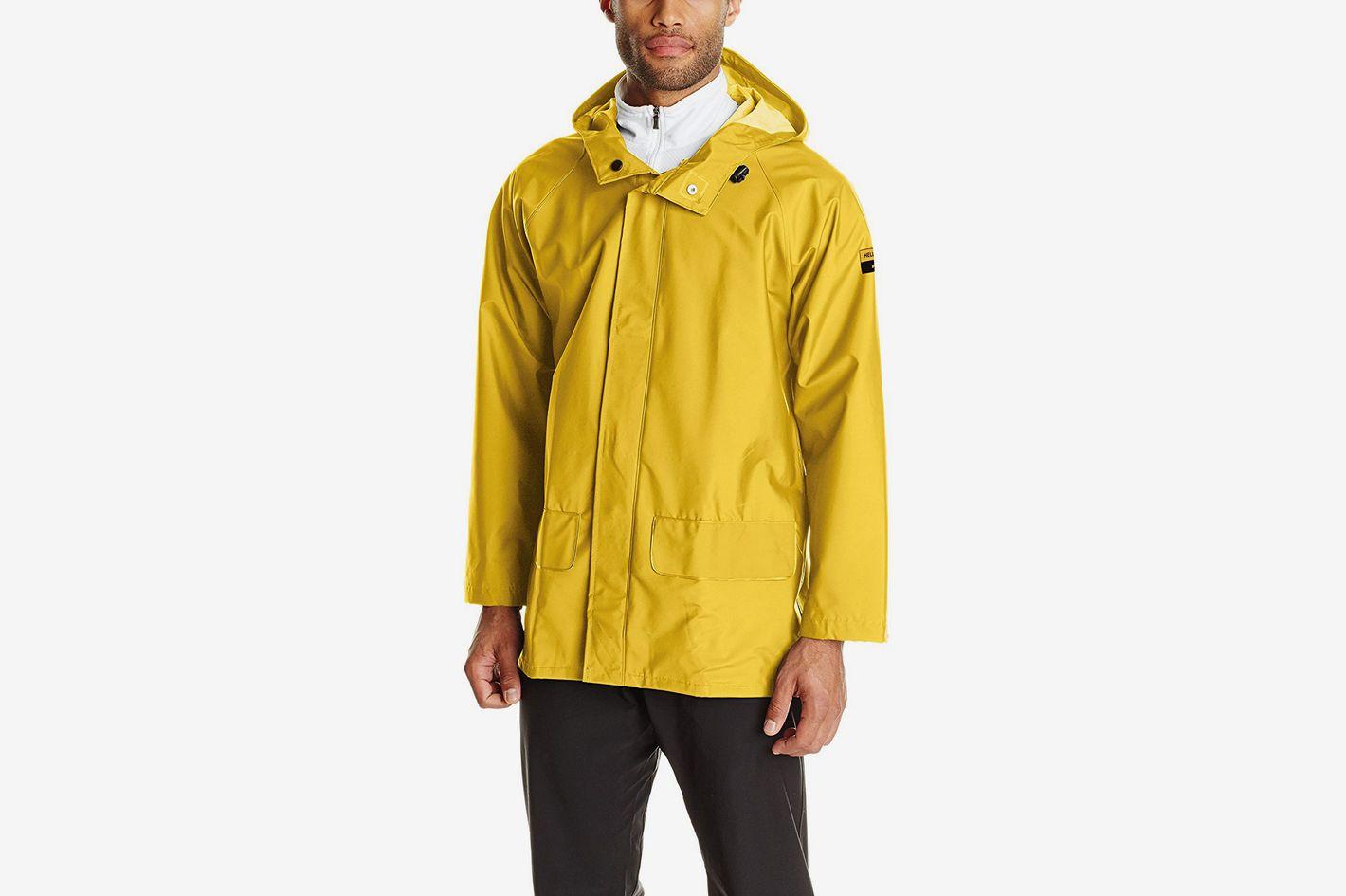Helly Hansen Workwear Men's Mandal  Waterproof Hooded Rain Coat