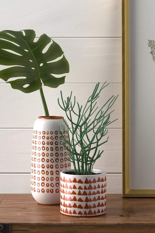 Stone & Beam Modern Rustic Ceramic Vase