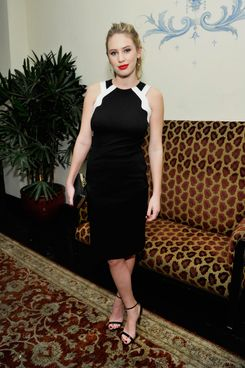 "Actress Dylan Penn attends the W Magazine celebration of The ""Best Performances"" Portfolio and The Golden Globes with Cadillac and Dom Perignon at Chateau Marmont on January 9, 2014 in Los Angeles, California."