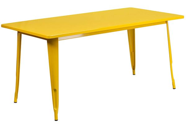 Flash Furniture Metal Indoor-Outdoor Table