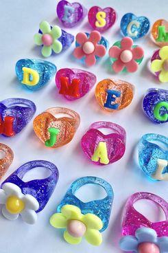 Bonbonwhims Glitter Lucky Charms Ring