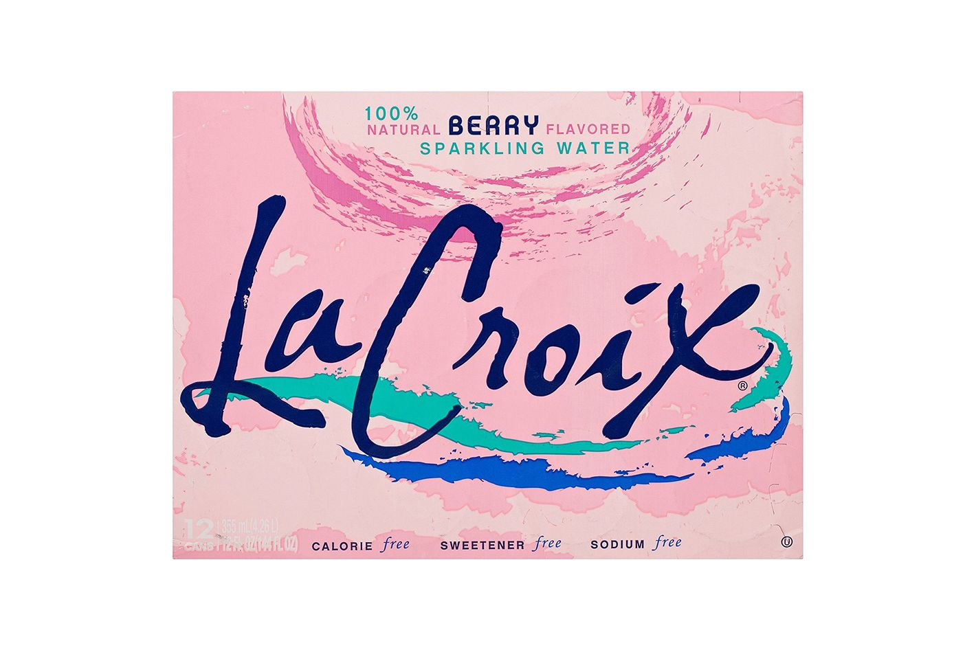 La Croix Sparkling Water, Berry, Pack of 12