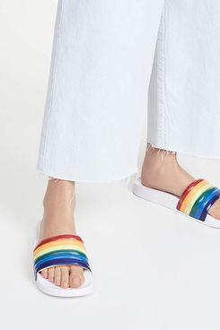 Tretorn Rainbow Slide Sandal