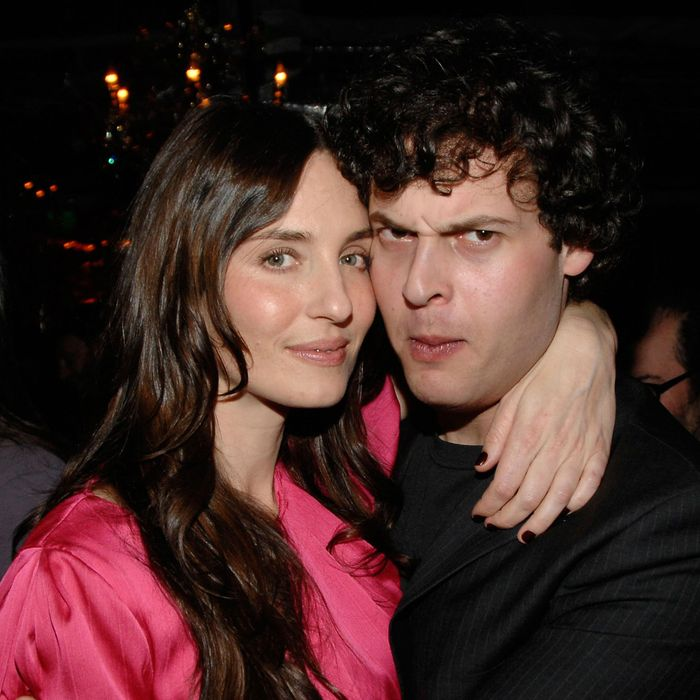 The alleged murderer Blake Leibel with another woman in 2008.