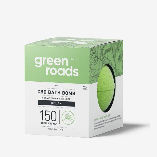 Green Roads Large CBD Bath Bomb, 150 mg