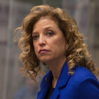 Congresswoman and DNC Chair Debbie Wasserman-Schultz at the