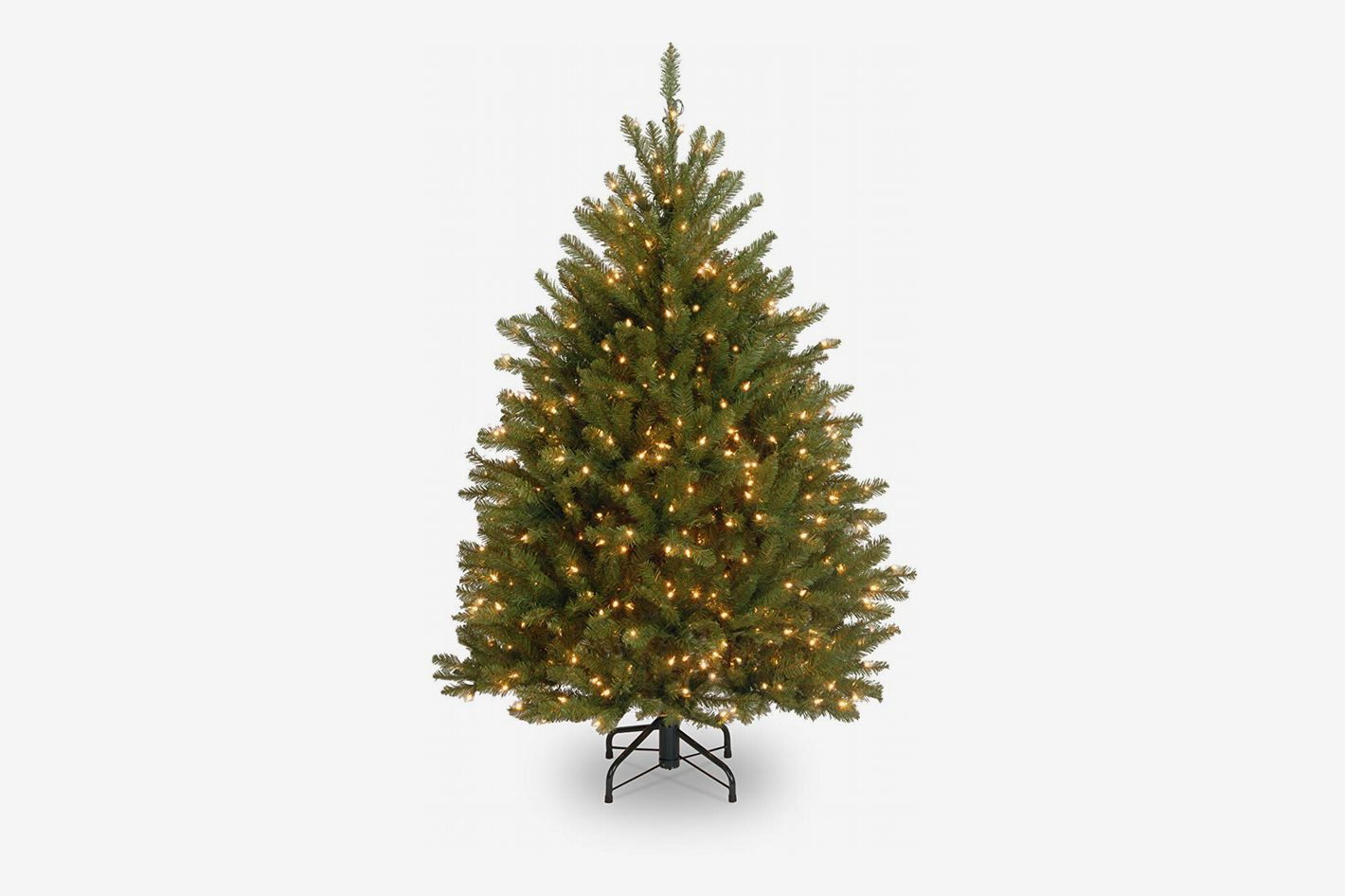 national tree 4 12 foot dunhill fir tree with 450 clear lights at amazon - Amazon Christmas Decorations Indoor