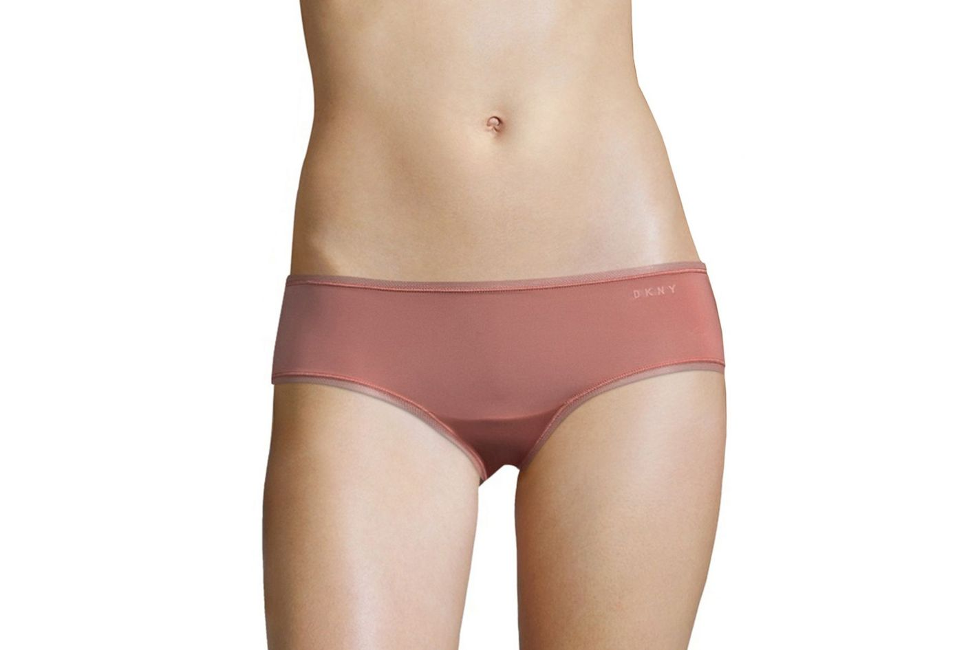 DKNY Mesh-Trimmed Hipster Panties