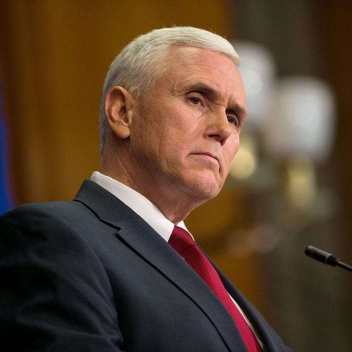 Not so fast Governor Pence.