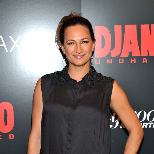 "Zoe Bell attends a screening of ""Django Unchained"" hosted by The Weinstein Company with The Hollywood Reporter, Samsung Galaxy and The Cinema Society at Ziegfeld Theater on December 11, 2012 in New York City."