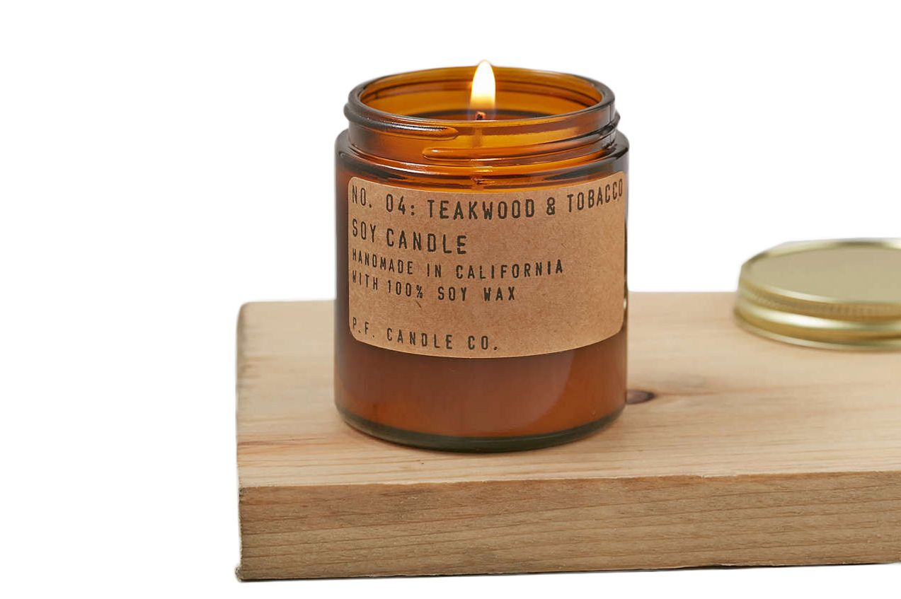 P.F. Candle Co. Travel Jar Candle Teakwood & Tobacco
