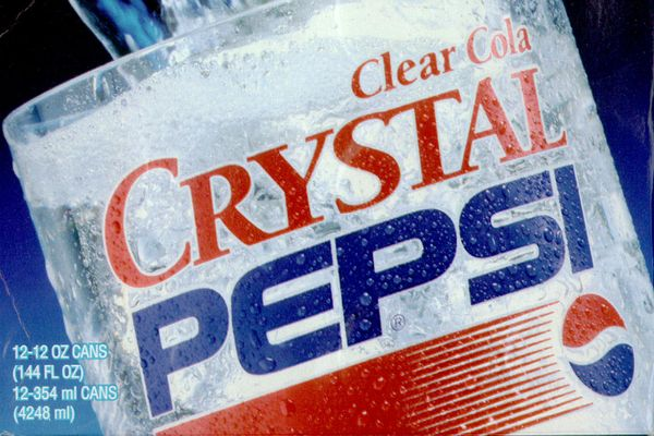 Prepare Yourself for Crystal Pepsi's Comeback