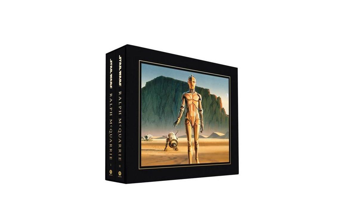 If You Got Them A Darth Vader Toaster Last Year: This Two Volume Boxed Set  Is An Homage To Ralph McQuarrie, The Artist Who Worked Closely With George  Lucas ...