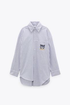 Zara Stripe Everlast Shirt