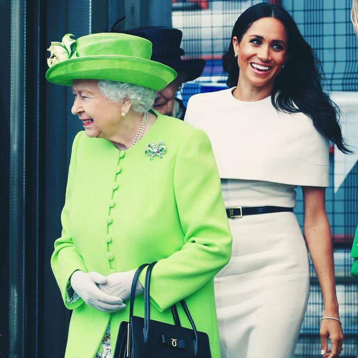 Meghan Markle Asks Queen Elizabeth For Royal-Protocol Help
