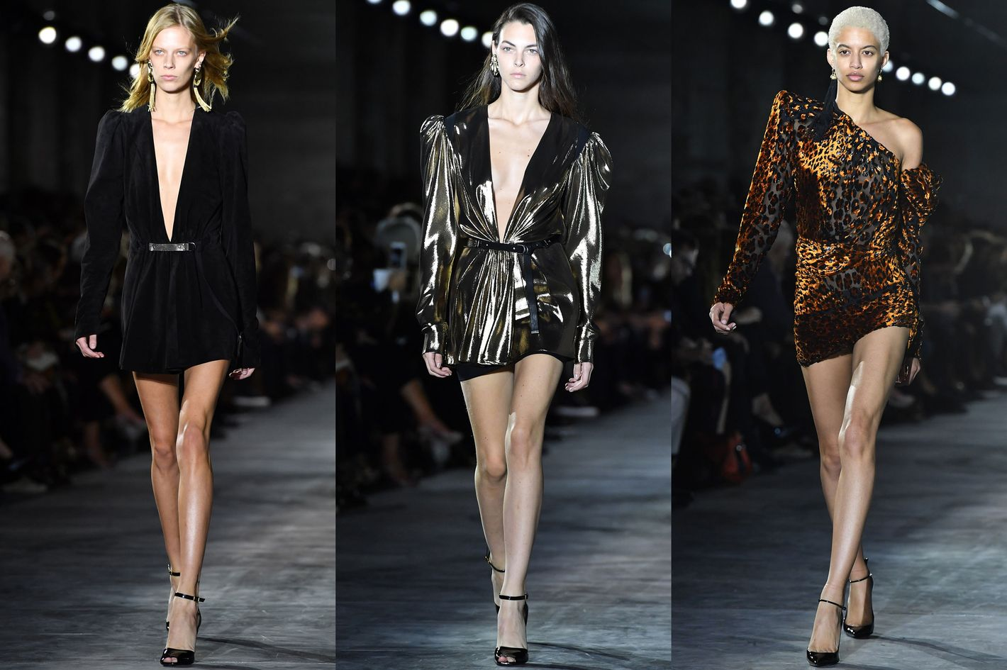 9b760d38d8b Anthony Vaccarello's First Show for Yves Saint Laurent