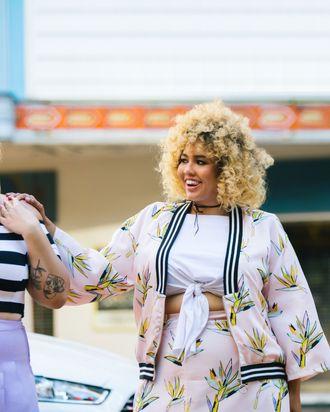 f936b03e1db Gabi Gregg and Nicolette Mason s New Size-Inclusive Line Is Already Selling  Out