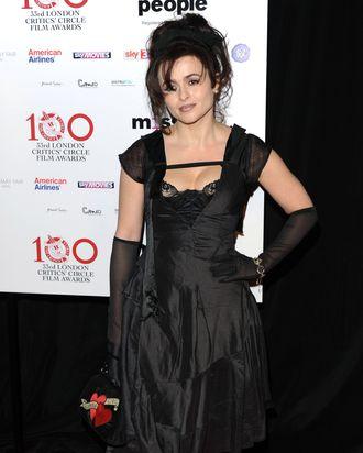 Helena Bonham Carter attends the London Critics' Circle Film Awards at The Mayfair Hotel on January 20, 2013 in London, England.