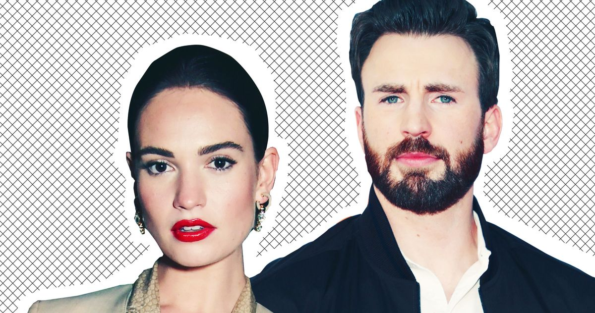 Are Chris Evans and Lily James Hooking Up or What?