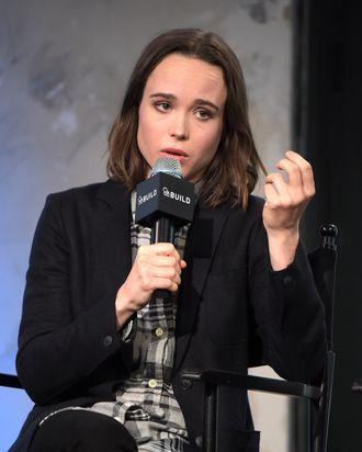AOL Build Speakers Series - Ellen Page And Ian Daniel,