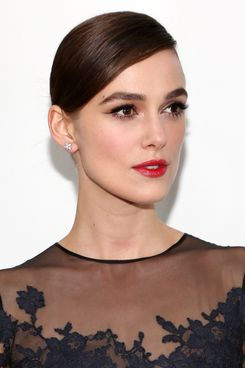 "Keira Knightley attends the ""Anna Karenina"" New York Special Screening at Florence Gould Hall on November 7, 2012 in New York City."