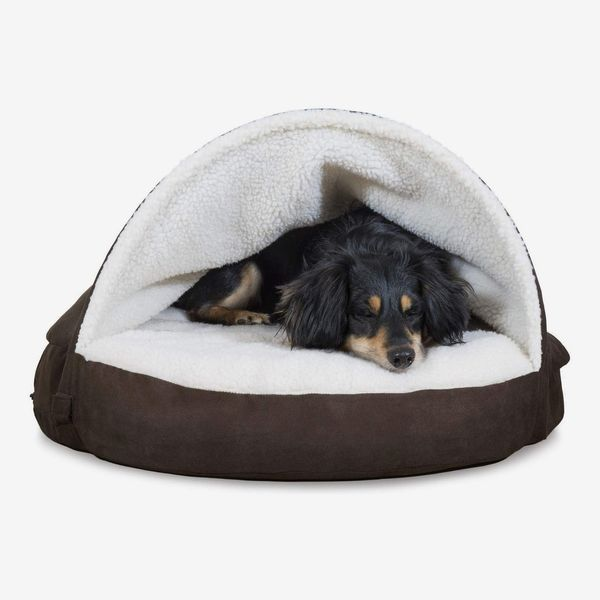 Furhaven Therapeutic Burrow Blanket Pet Bed