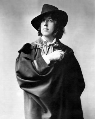 Oscar Wilde in 1882.