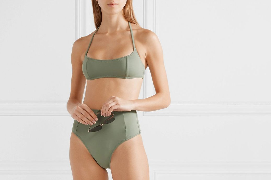 Solid & Striped Jessica Halterneck Bikini Set