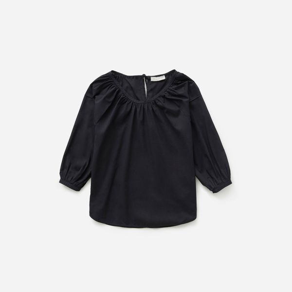 Everlane Air Ruched Blouse
