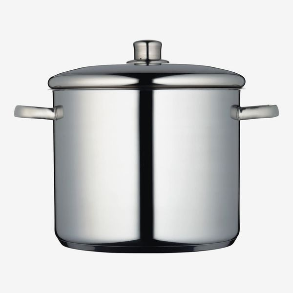 MasterClass Induction-Safe Stainless Steel Stock Pot with Lid