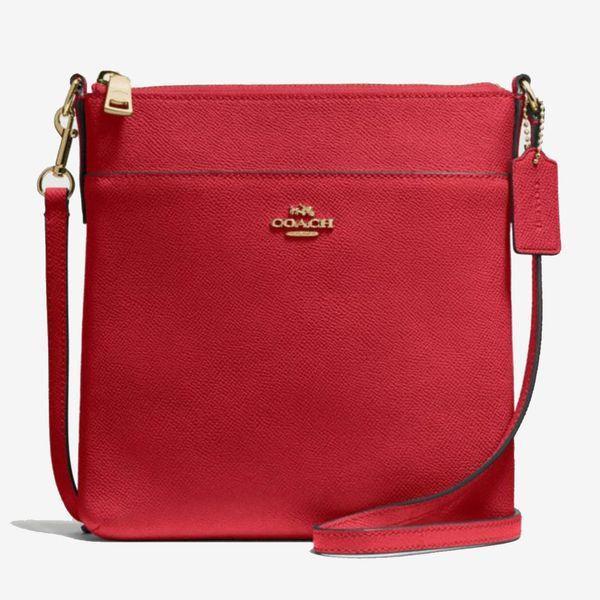 red coach messenger bag coach-summer-sale