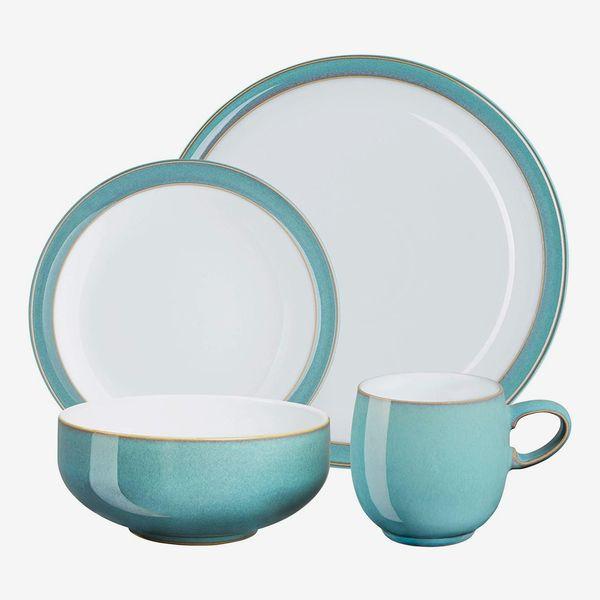 Denby Azure 16 Piece Tableware Set