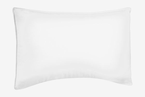 Pinzon Shed-Resistant White Duck Down Pillow — Soft Density, Standard