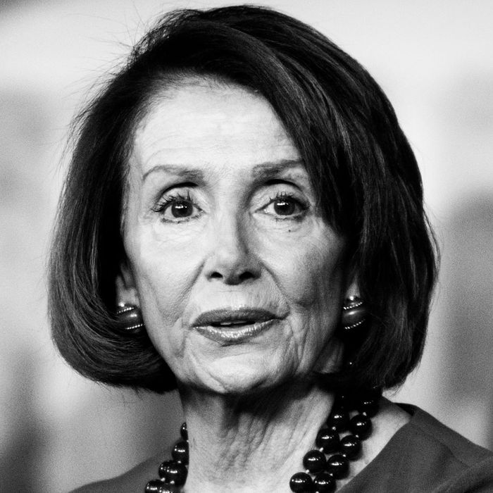 Democratic House leader Nancy Pelosi.