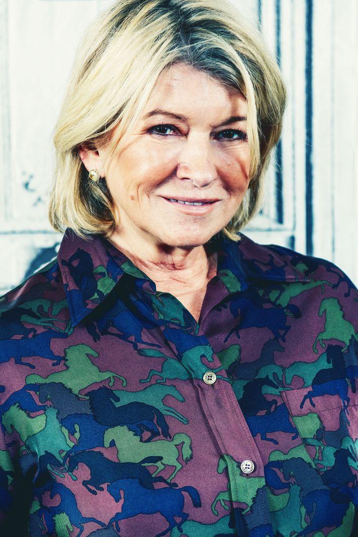 Martha Stewart.