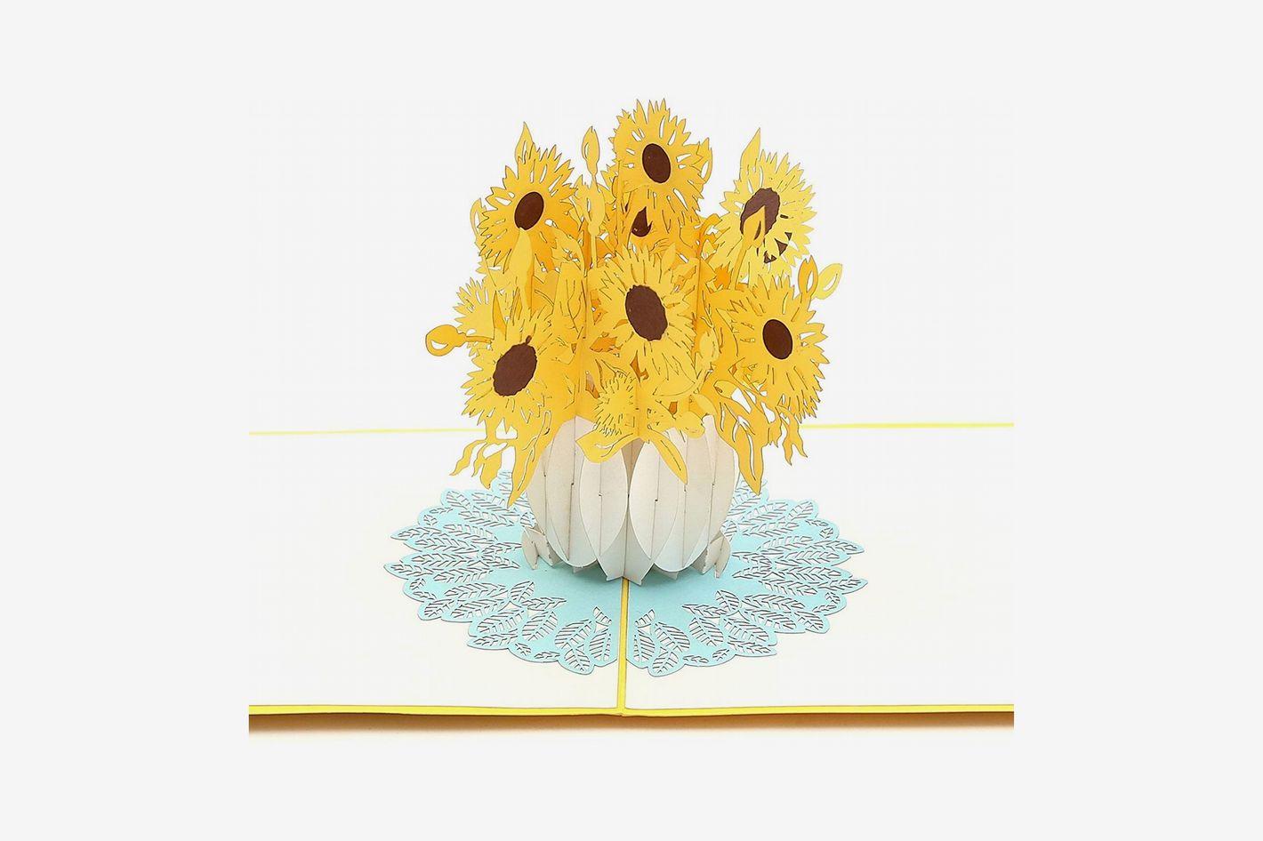 Liif Sunflower Pop up Card