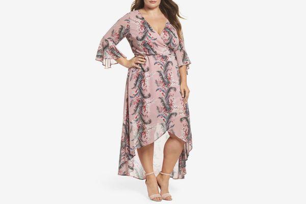 Glamorou Print High/Low Dress