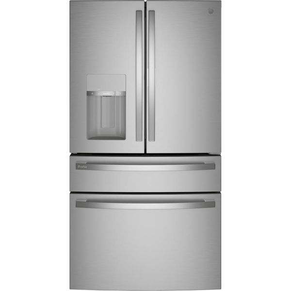 G.E. 36-Inch Fingerprint Resistant Stainless Steel French Door Refrigerator