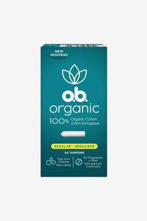 o.b. Organic Cotton Tampons (24-Count)