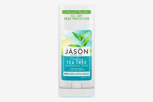 JASON Purifying Tea Tree Deoderant Stick, 2.5 Ounce Tubes (Pack of 3