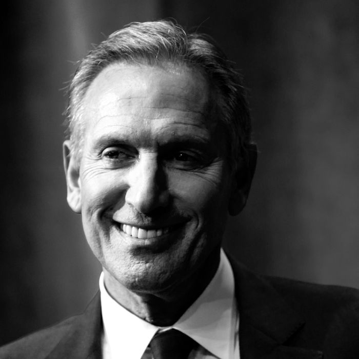 Howard Schultz, maybe after reading a compliment from the Women_4_Schultz account?