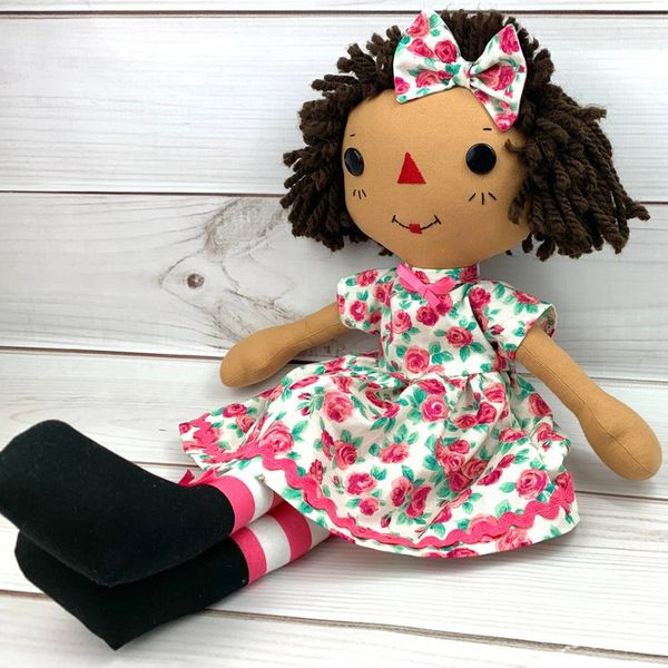 Step Stitches Personalized Raggedy Ann Doll