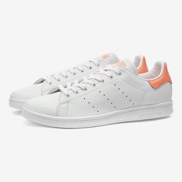 Adidas Stan Smith (White/Coral)