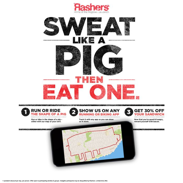 Pigs don't technically sweat, but whatever.